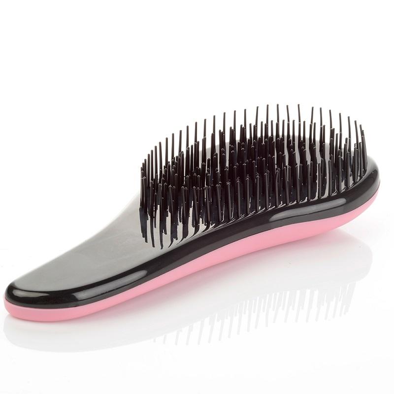 Щётка для распутывания волос Detangler, 18.5 см, цвет светло-розовый