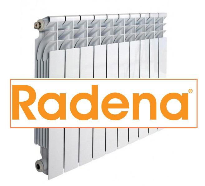 Радиатор алюминиевый RADENA 500/100 5 секции