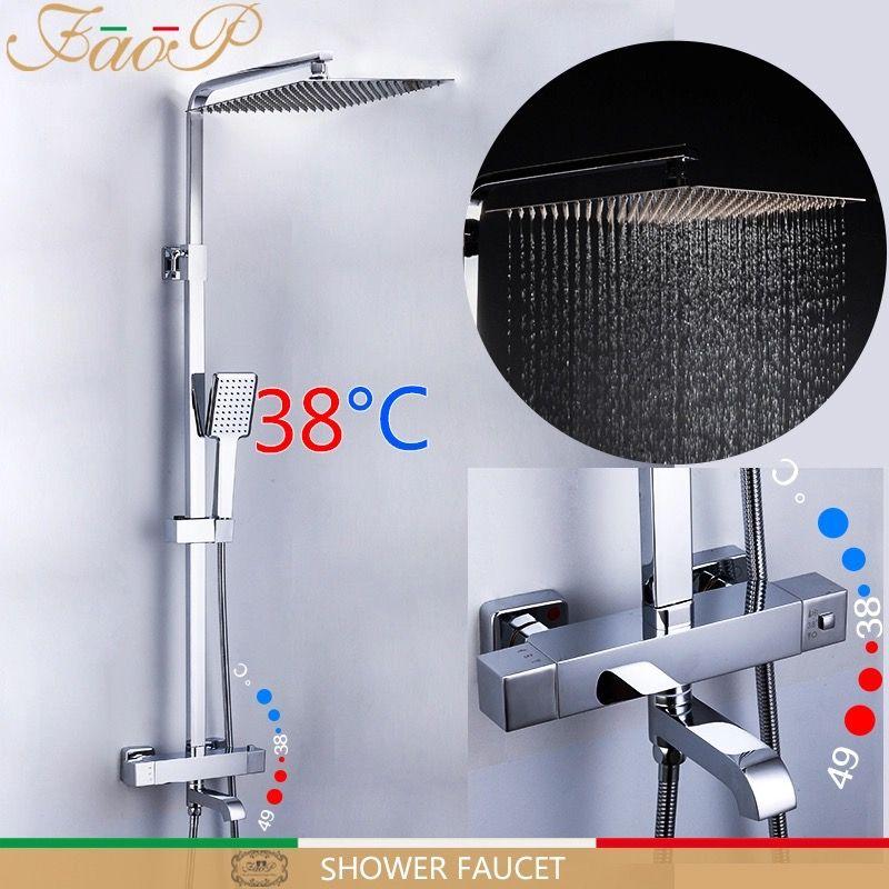 Faop A2420 Душевая система с термостатом