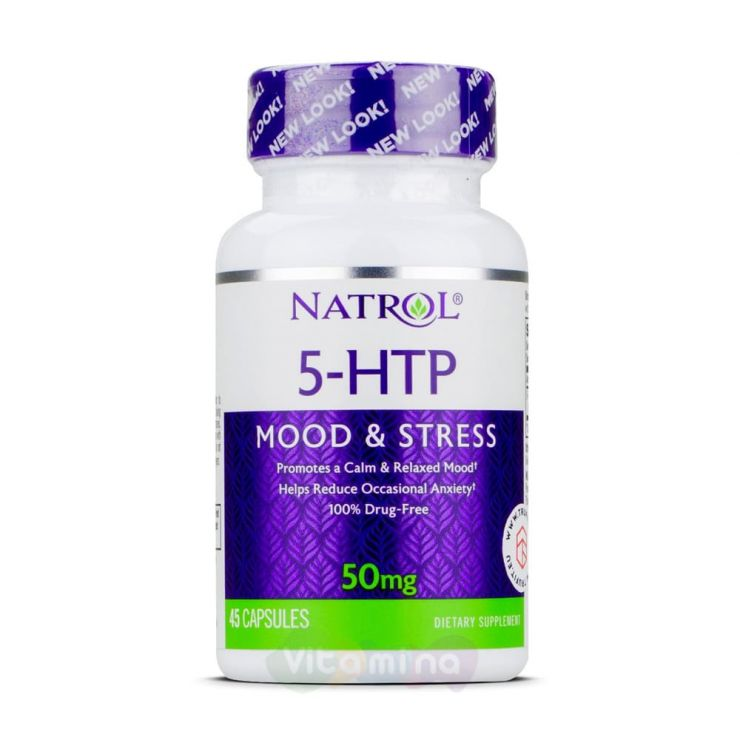Natrol 5 HTP 50 мг
