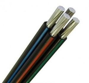 Провод СИП-4 4х120 (ГОСТ) самонесущий алюмин. изоляция ССПЭ 0,6/1кВ