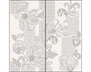 Illusio Панно Grey Pattern 63х63 (комп. из 2 пл.)