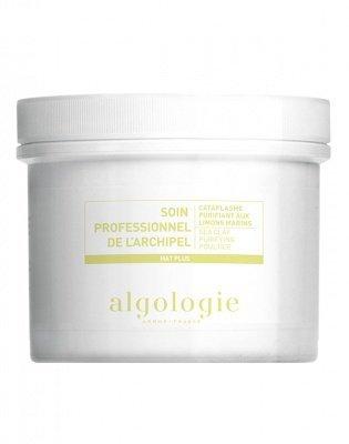 Очищающая маска-компресс с морской глиной для жирной и смешанной кожи 140 г Algologie