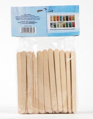 Шпатели деревянные стандарт, 100 шт.