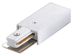 Ввод питания для шинопровода (10572) Volpe UBX-Q121 K01 WHITE