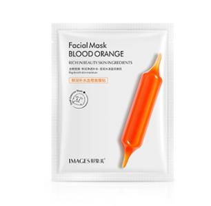 Нежная увлажняющая маска Images от «BIOAQUA» с экстрактом красного апельсина.(3977)
