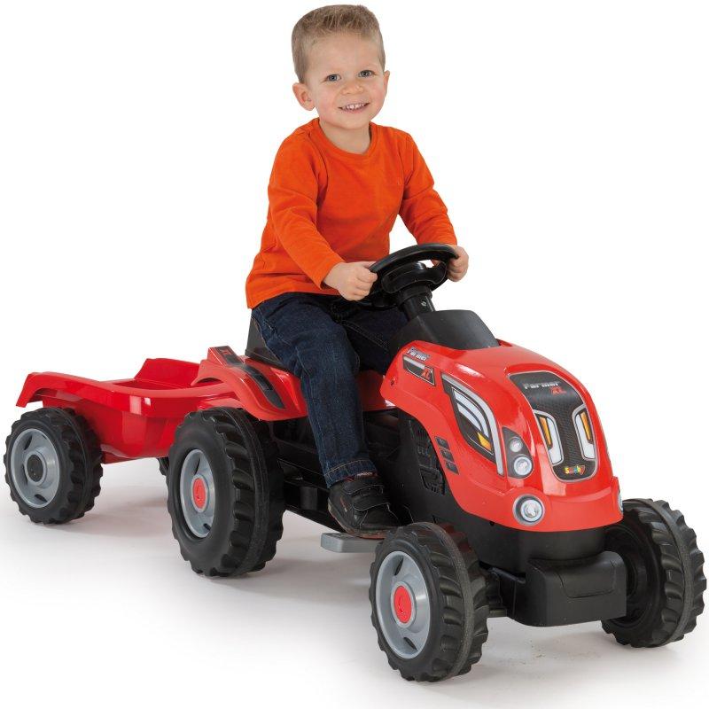 Трактор педальный xl claas Smoby 710108