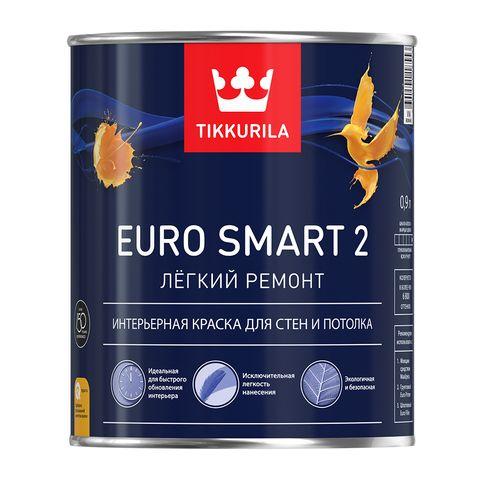 Глубоко матовая латексная краска Euro Smart 2