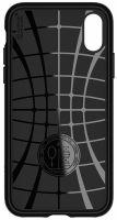 Купить чехол Spigen Core Armor для iPhone Xs / X черный тонкий чехол для Айфон Xs / X в Москве в интернет магазине аксессуаров для смартфонов elite-case.ru