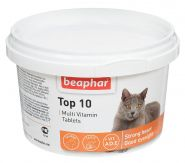 Beaphar Top 10 Кормовая добавка для кошек (180 табл.)