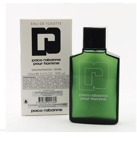 Tester Paco Rabanne pour homme 100 мл