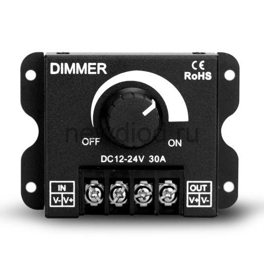 Mono-контроллер накладной 007 черный 30A Oreol