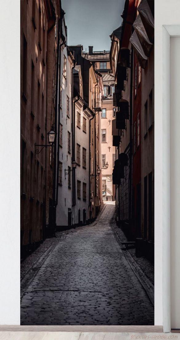 Панно на стену - Улочка