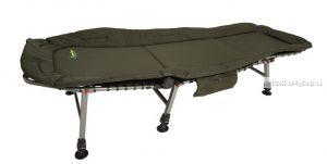 Раскладушка Traper ( регулируемая спинка) вес 11 кг / нагрузка 100 кг(60x200cm) (Артикул:L 6 )