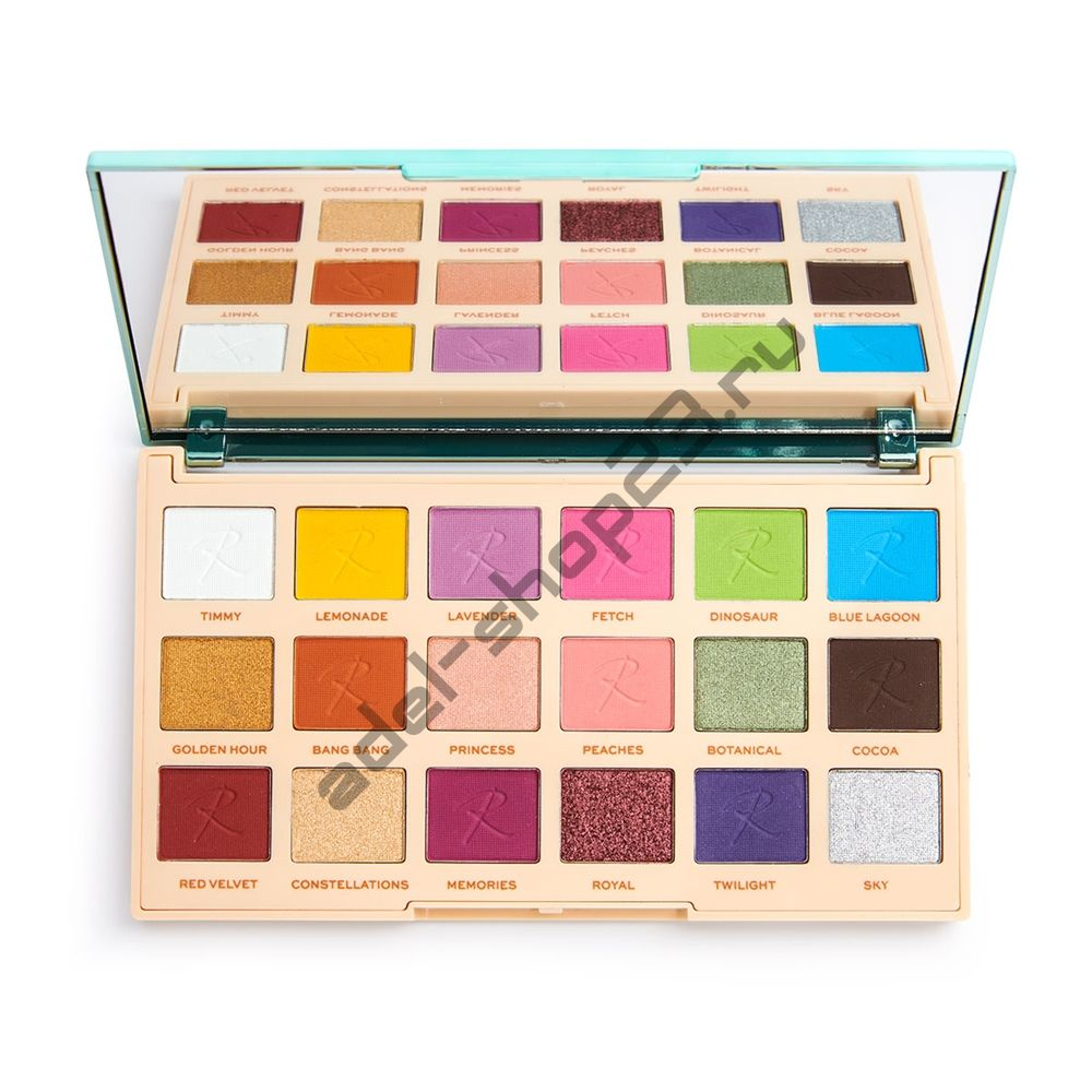Revolution - x Roxxsaurus Colour Burst Shadow Palette