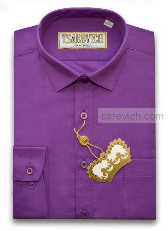 "Рубашки для мальчиков оптом ""Царевич"" (6-14 лет.). 10 шт. Артикул: Amaranth"