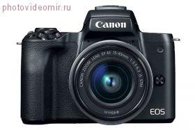 Фотоаппарат Canon EOS M50 kit EF-M 15-45mm f/3.5-6.3 IS STM черный