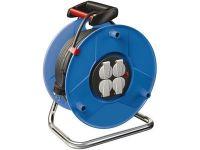 Удлинитель на катушке Brennenstuhl Garant 50 метров; 4 розетки; кабель H05VV-F 3G1,5; IP20 (1205066)