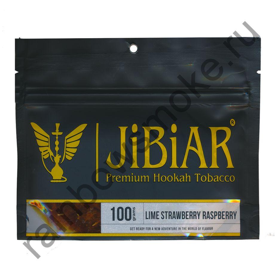 Jibiar 100 гр - Lime Strawberry Raspberry (Лайм Клубника Малина)
