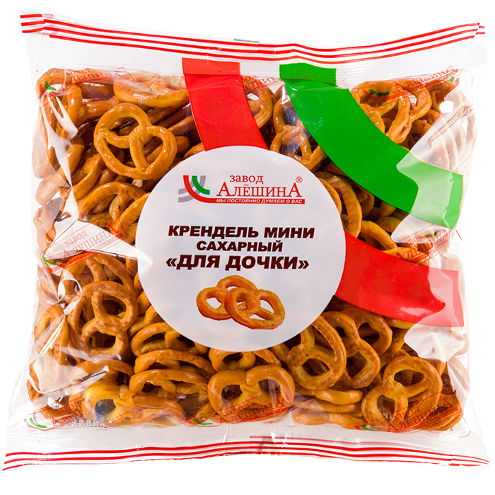 Крендельки Для дочки сахарные 200г Черногорск