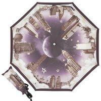 Зонт складной Moschino 7002-OCA Romantic City Black