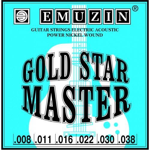 EMUZIN 6ГСМ-01 (08-38) Струны для электрогитары