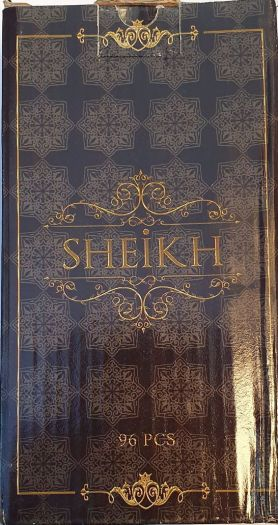 Уголь Sheikh 96 шт.
