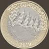D-DAY Юбилей высадки в Нормандии 2 фунта Великобритания 2019 Буклет.