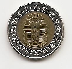 1 фунт (Регулярный выпуск) Египет 2007