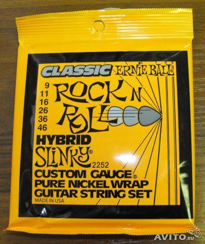 ERNIE BALL 2252 (9-46) Струны для электрогитары