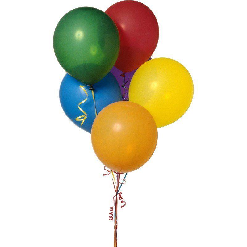 5 разноцветных шариков
