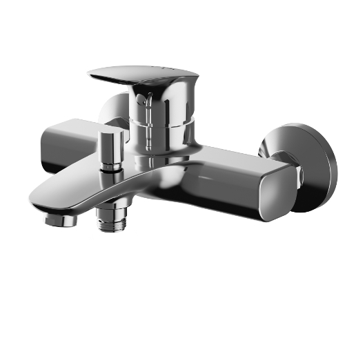 Однорычажный смеситель для ванны с душем AM.PM Spirit V2.1 F71A10000
