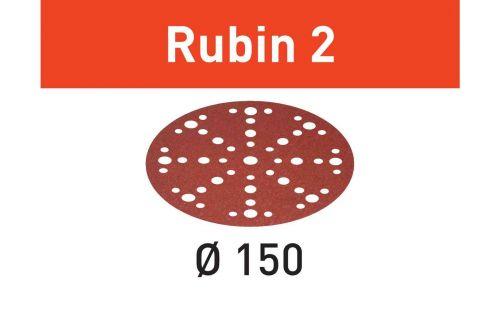 Шлифовальные круги STF D150/48 P100 RU2/50 Rubin 2