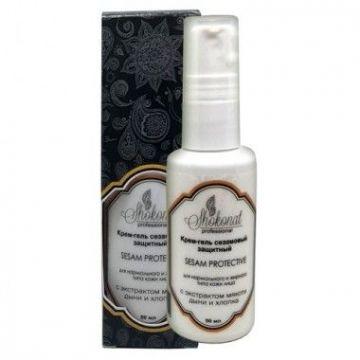 Крем-гель сезамовый защитный SESAM PROTECTIVE для нормального и жирного типа кожи с экстрактом мякоти дыни и хлопка