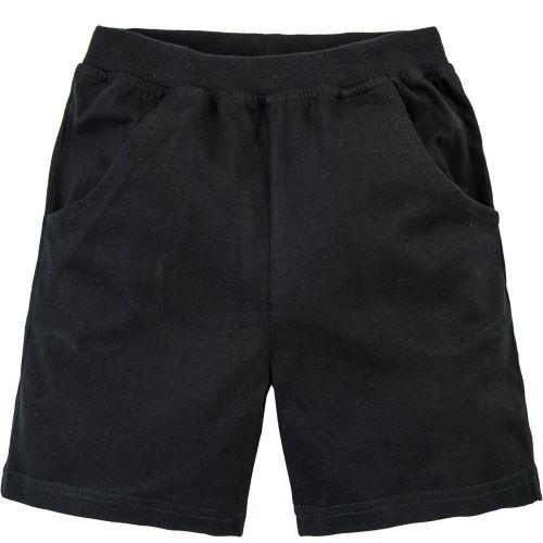 Черные шорты для мальчиков 7-10 лет BABY STYLE