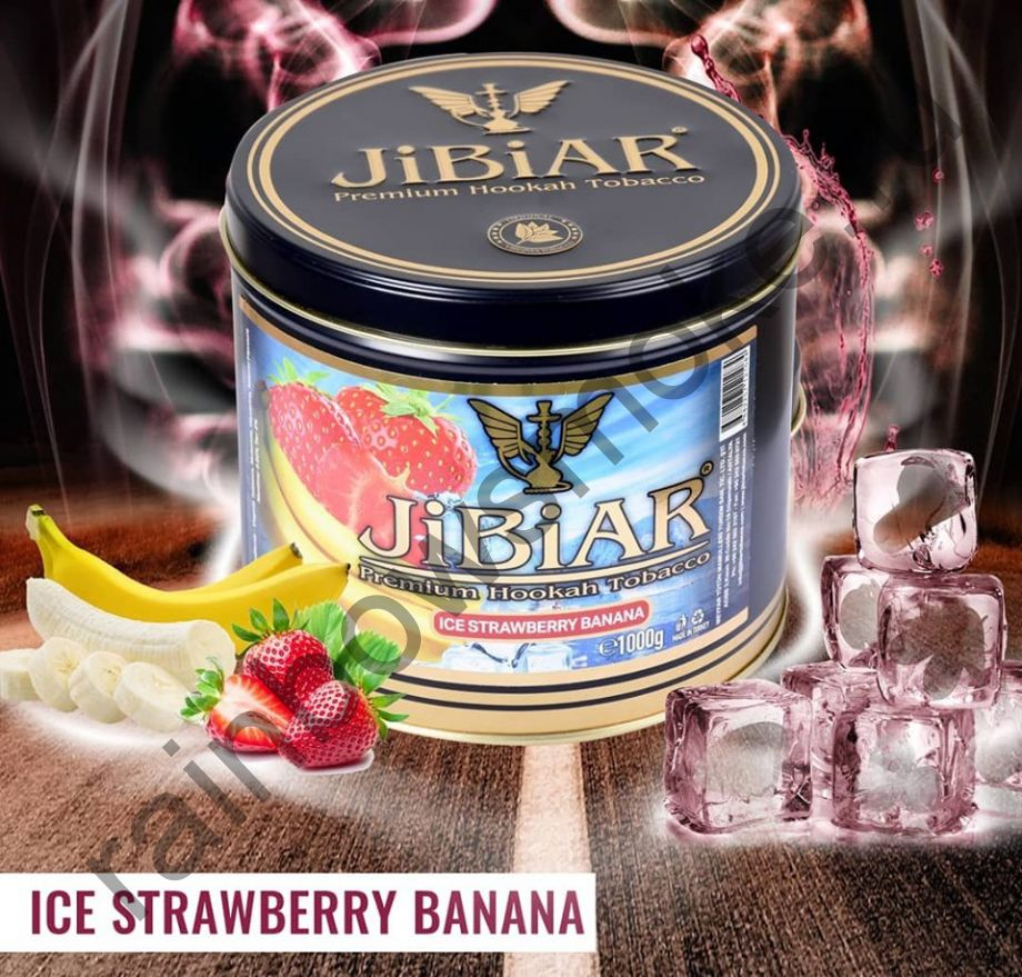 Jibiar 1 кг - Ice Strawberry Banana (Ледяная Клубника Банан)