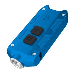 Фонарь наключный Nitecore TIP Синий