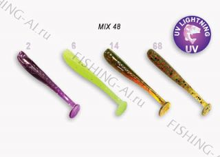 Crazy Fish Nano minnow 1.6 (MIX 48)