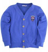 Кардиган для мальчиков 7-11 лет Bonito синий