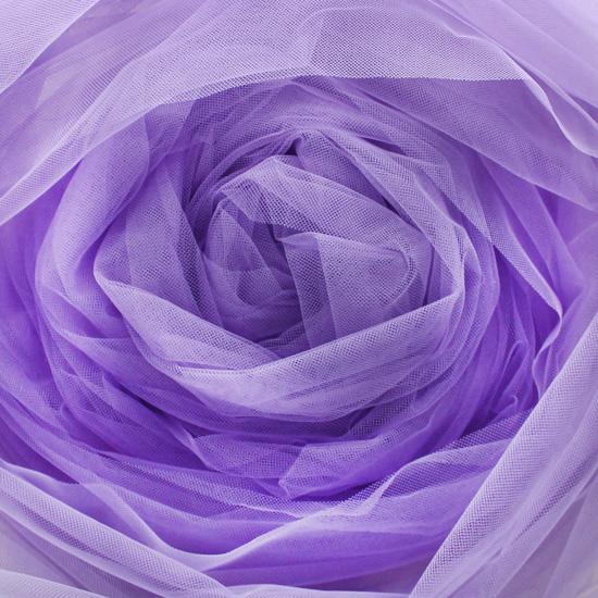 Мягкий фатин (еврофатин) 300х25 см - фиолетовый