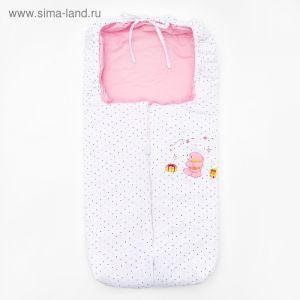 Конверт 726FU078 84*42 см, цвет розовый   4405165
