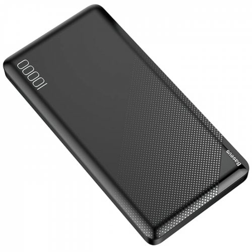 Внешний аккумулятор Baseus Mini Cu power bank 10000mAh (Dual USB 2.1A output/micro input) (PPALL-KU01, PPALL-KU02) Black