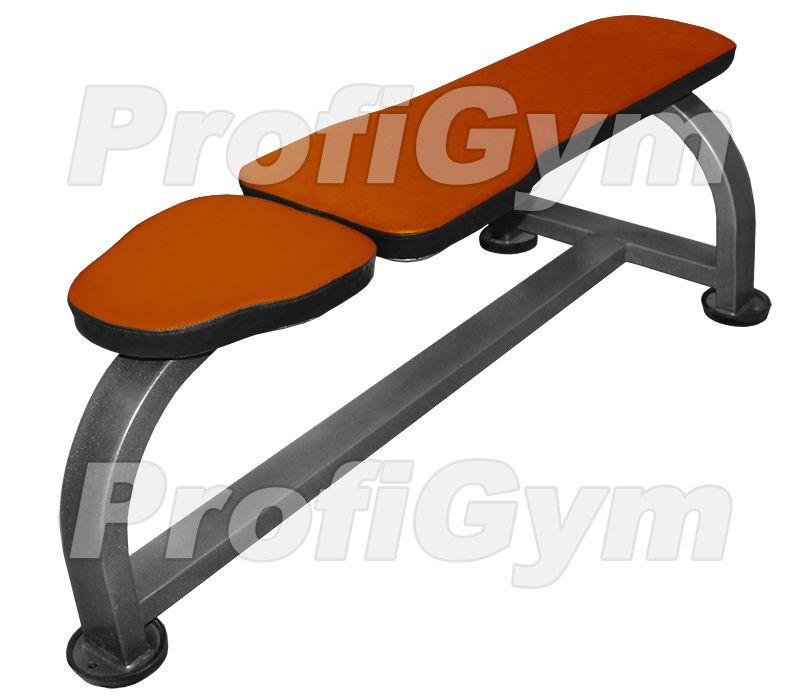 СК-0140-H Скамья горизонтальная атлетическая серия Classic