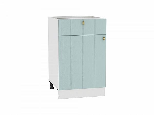 Шкаф нижний Прованс Н501 (голубой)