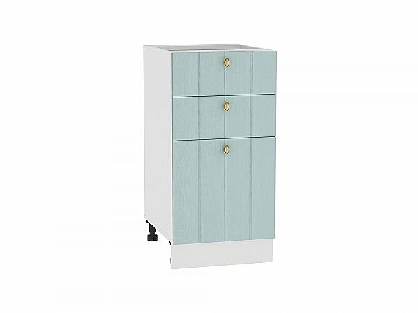 Шкаф нижний Прованс Н403 (голубой)