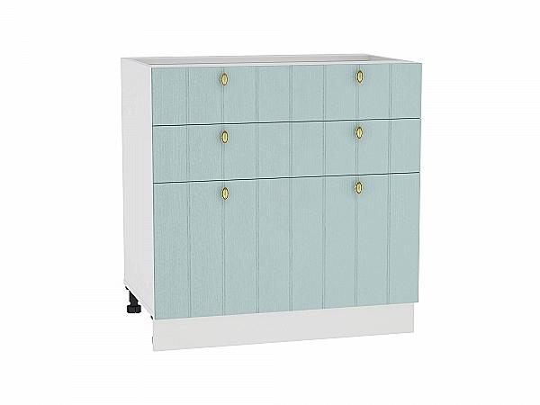 Шкаф нижний Прованс Н803 (голубой)