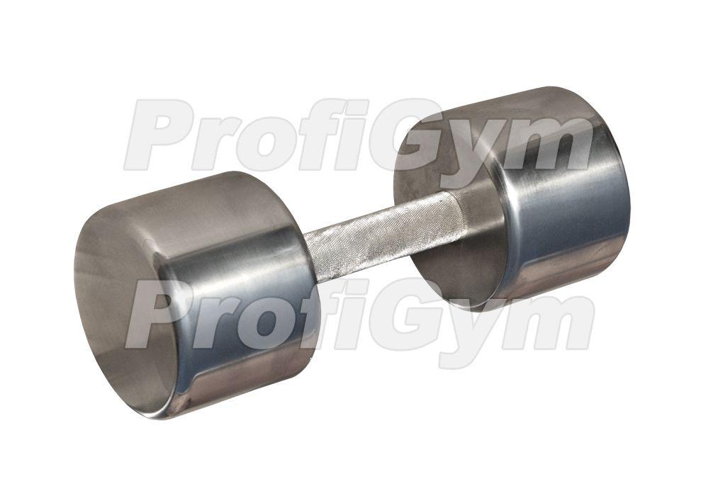 ГНХ-10 Гантель хромированная «PROFIGYM» 10 кг
