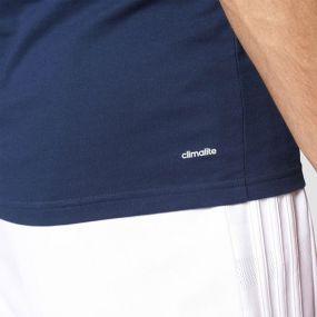 Футболка adidas Tiro 17 Tee тёмно-синяя