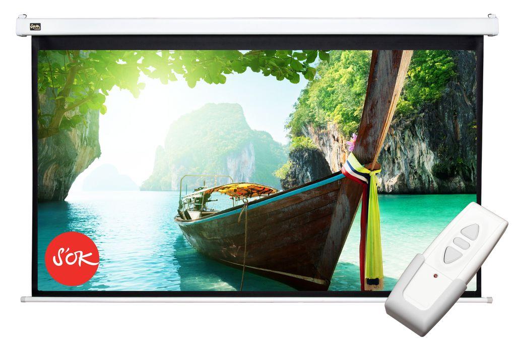 Экран S'OK SCPSM-186x105FG