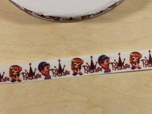 Лента репсовая с рисунком, ширина 22 мм, длина 10 м, Арт. ЛР5821